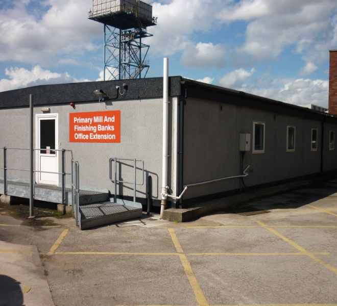 Portable Building used as Office Extension