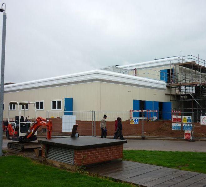 modular classroom builder uk university schools