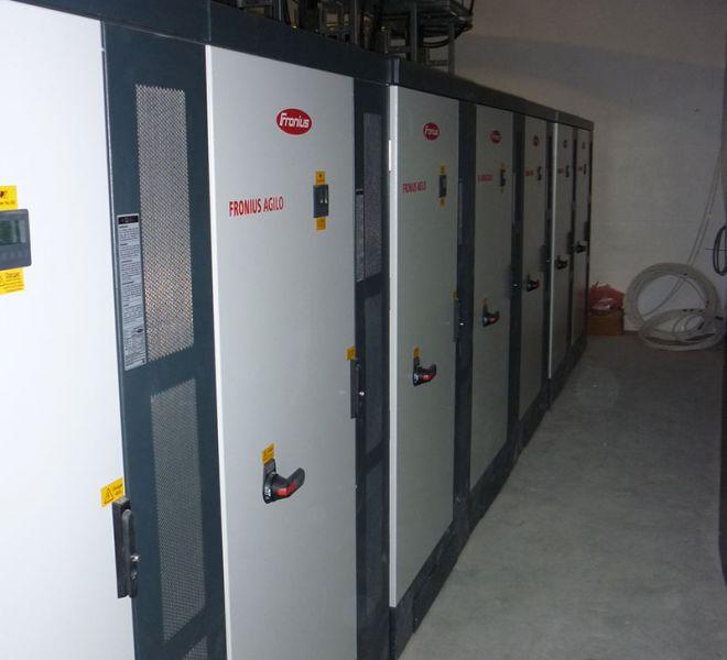 solar electrical installer Aldi
