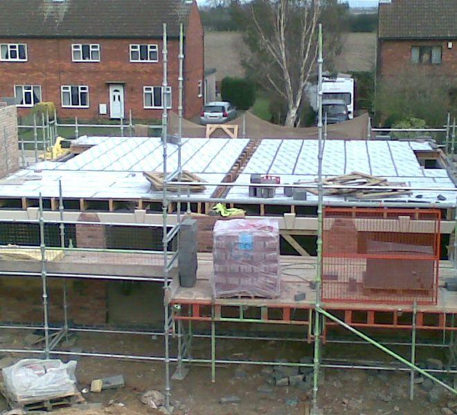 new build developer Eastrington Semis