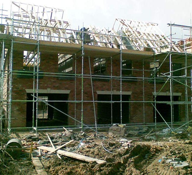 Eastrington Terrace House building development