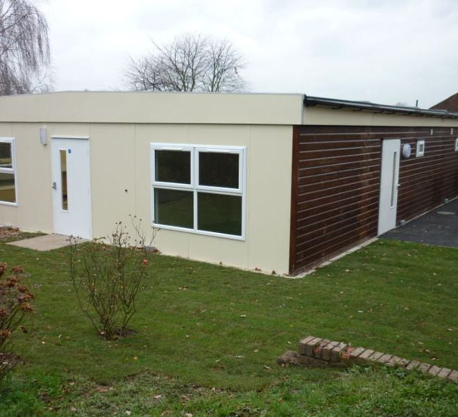 classroom extension UK builder project management
