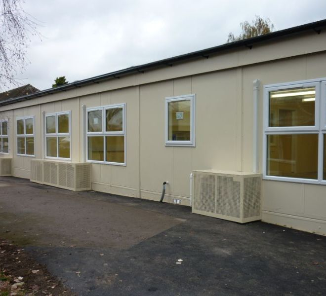 school extension builder England