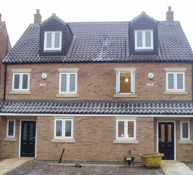 four bedroom semi detached property developer builder