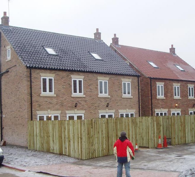 four bedroom semi detached property developer construction