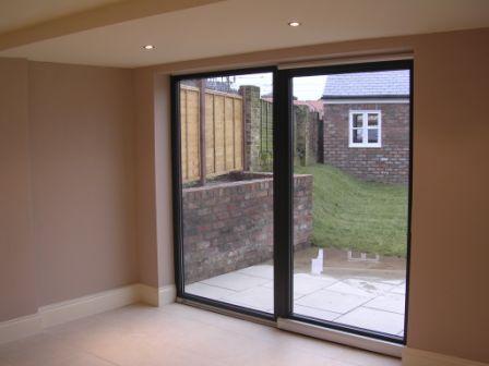 Yorkshire home renovation York sliding door