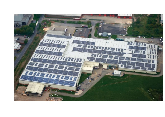 commercial solar pv install selby